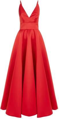 La Mania Satin Cami Gown