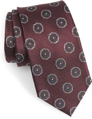 Nordstrom Medallion Silk Tie