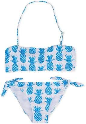 7bd3355735 MC2 Saint Barth Kids TEEN pineapple print bikini