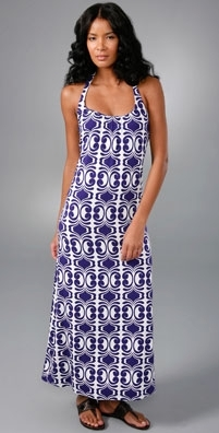 Velvet Lesa Spanish Tile Maxi Dress