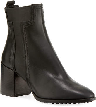 028dde2453db Tod s Leather Block-Heel Chelsea Boots