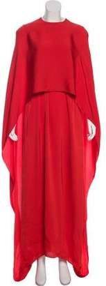 Stella McCartney 2018 Eilise Crepe Dress w/ Tags