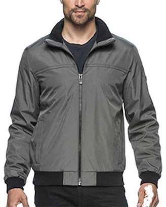 Andrew Marc Mens Bomber Jacket (, Gray)