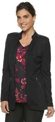 Dana Buchman Women's Notch Collar Blazer