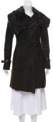 Henry Beguelin Knee-Length Shearling Coat