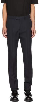 Raf Simons Navy Slim Trousers