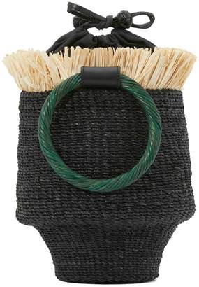 Aranaz Ada fringed bucket bag