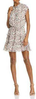 Rebecca Minkoff Ollie Tiered Floral-Print Dress