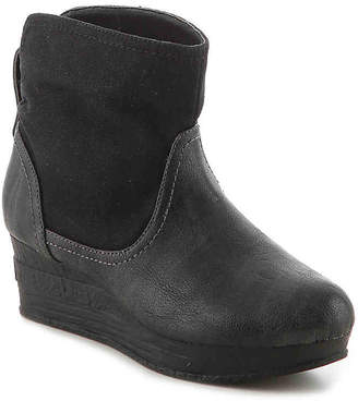 Volatile Puzzle Toddler & Youth Wedge Boot - Girl's