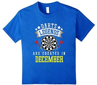 D+art's Funny Darts Legends Are Created In December T-shirt Quote