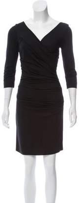 Diane von Furstenberg Long Sleeve Mini Dress