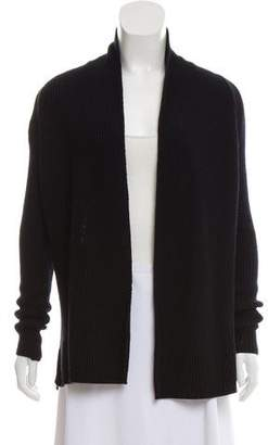 Vince Open Front Rib Knit Cardigan