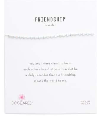 Dogeared Flat Bead Friendship Bracelet