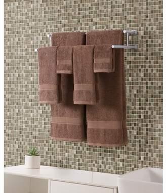VCNY Home Classic Dobby Stripe 6-Piece 100% Cotton Towel Set