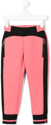 Versace colour block sweatpants