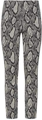 Alice + Olivia Gloriane Snake Print Trousers