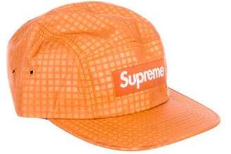 91740f1ed3a Pre-Owned at TheRealReal · Supreme 2017 Metallic Check Camp Cap w tags