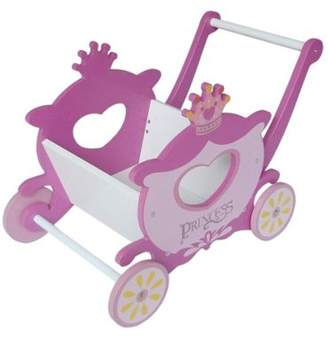 Kiddi Style Princess Themed Walker Carriage - Pink