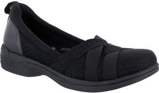 Easy Street Shoes Womens Sheer Round Toe Slip-On Shoe