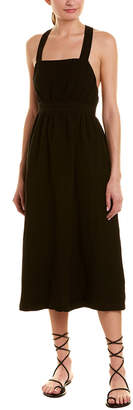 Rachel Pally Lian Linen-Blend Midi Dress