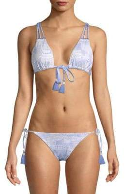 Dolce Vita Strappy Tassel Bikini Top