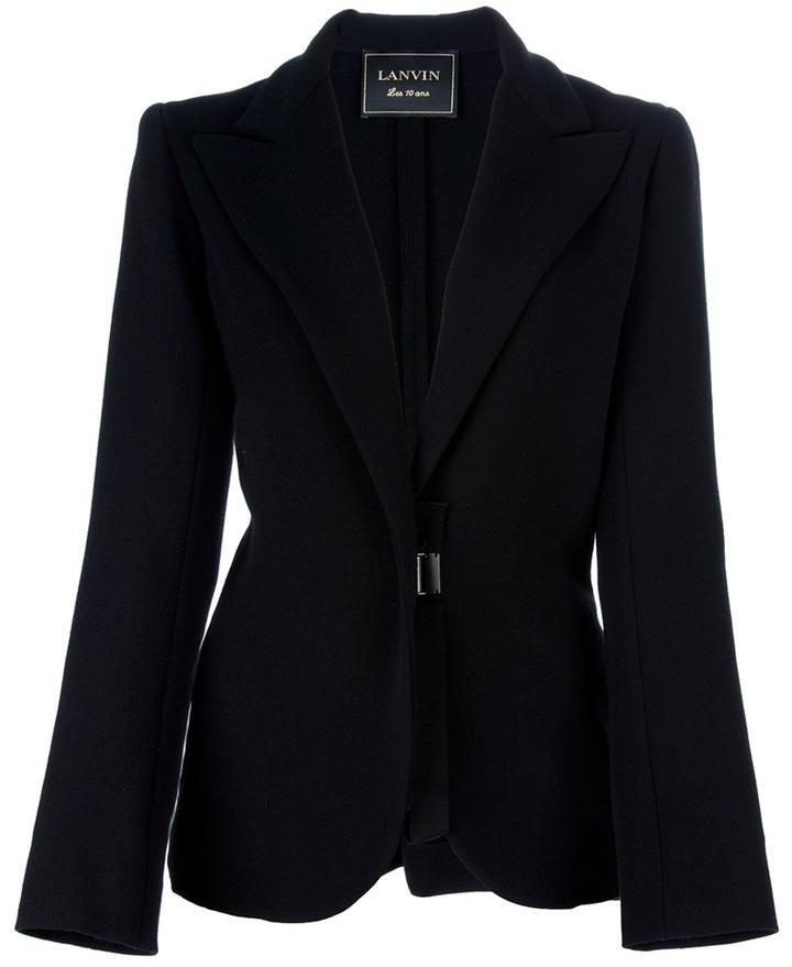Lanvin Single breasted jacket