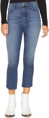 Sanctuary Modern High Rise Raw Hem Crop Jeans