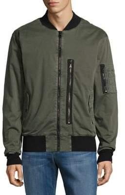 Hudson Long Sleeve Bomber Jacket
