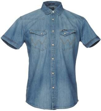 Wrangler Denim shirts - Item 42640194