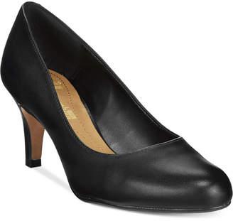 Clarks Collection Women's Arista Abe Pumps Women's Shoes $80 thestylecure.com