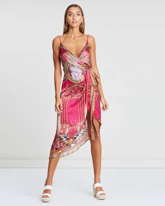 Camilla Asymmetric Wrap Dress