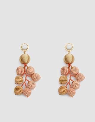 Lizzie Fortunato Meteor Earrings in Gold