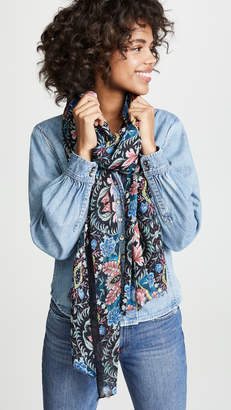 Rebecca Minkoff City Floral Oblong Scarf