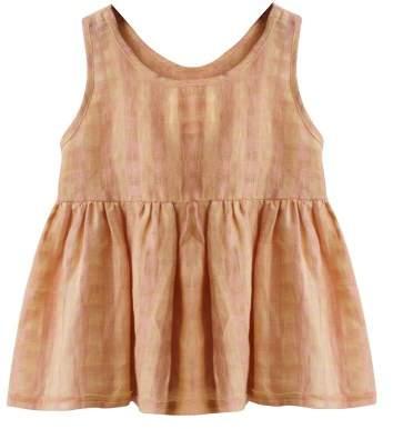 Buy Boy + Girl Katie Checked Linen Top!