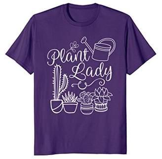 Funny Plant Lady Shirt - Plant Lovers T Shirt