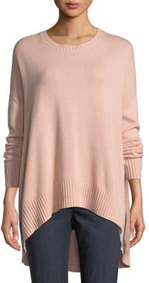 Eileen Fisher Lofty Cashmere Oversized Sweater