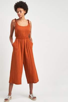 Next Womens Whistles Rust Mila Casual Jumpsuit