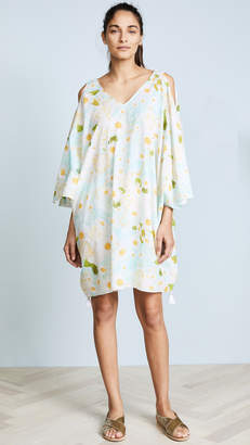 Isolda Open Shoulder Caftan