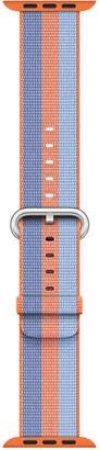 Apple Watch 38mm Orange Woven Nylon Band