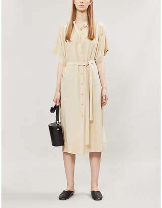 Joseph Jasper button-down silk-toile dress