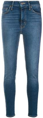 Levi's mid-rise stretch skinny jeans