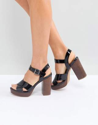 Asos DESIGN TIA Casual Platform Sandals