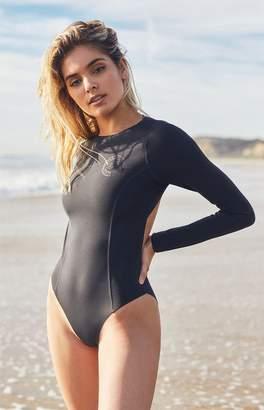 Billabong Surfed Out Bodysuit One Piece Swimsuit