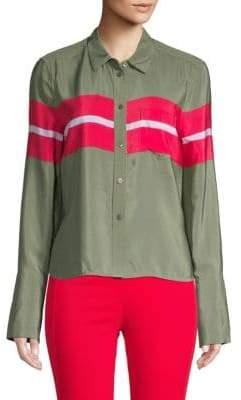 Equipment Silk Button-Down Shirt
