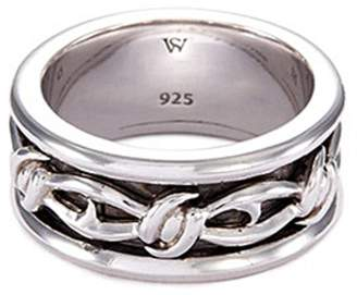 Stephen Webster 'Highwayman' rhodium silver thorn ring