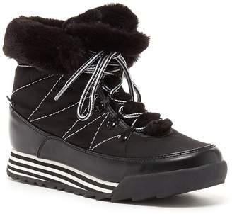 Rocket Dog Icee Faux Fur Trim Sneaker Boot