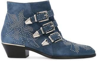 Chloé chunky heeled boots