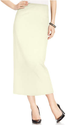 Kasper Crepe Column Skirt