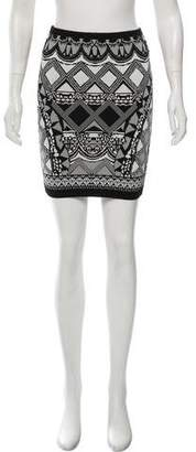 Camilla Graphic Print Knit Skirt