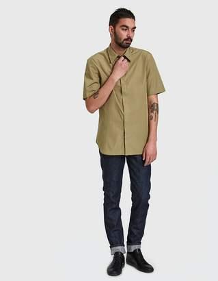 Maison Margiela Dine Poplin Short Sleeve Shirt